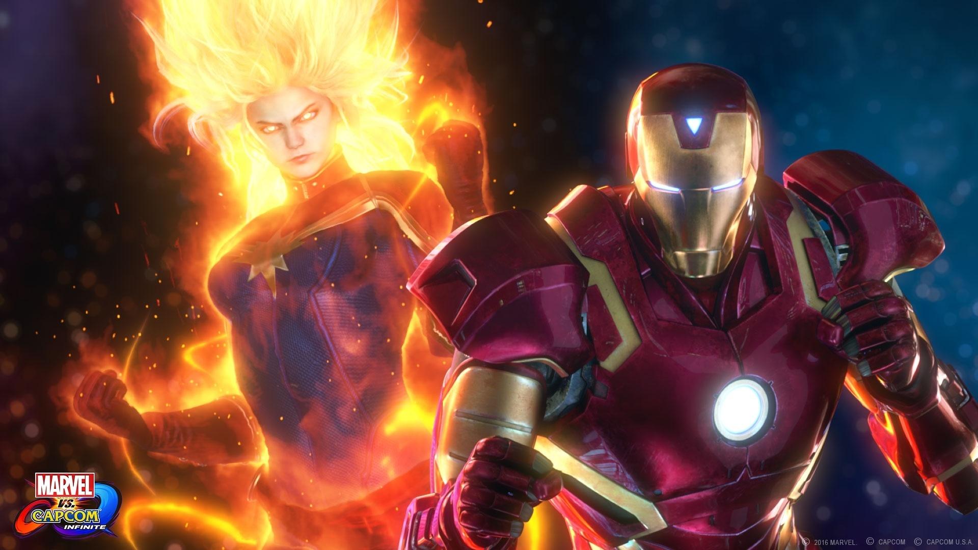 Mira el primer tráiler de historia de Marvel vs Capcom: Infinite