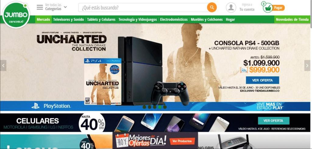 Tiendas Jumbo - PlayStation 4