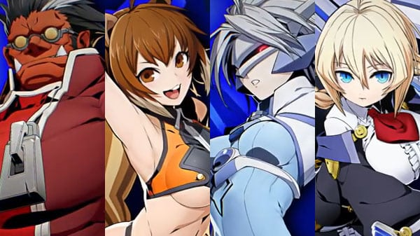 Cuatro personajes se unen a Blazblue Cross Tag Battle