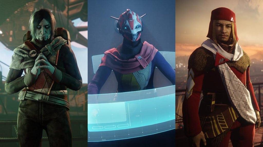 Destiny 2 - Facciones