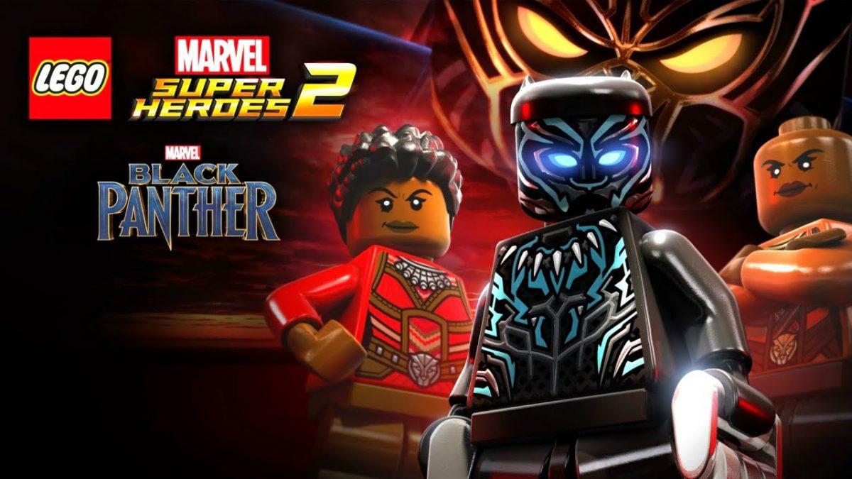 Black Panther - Lego Marvel