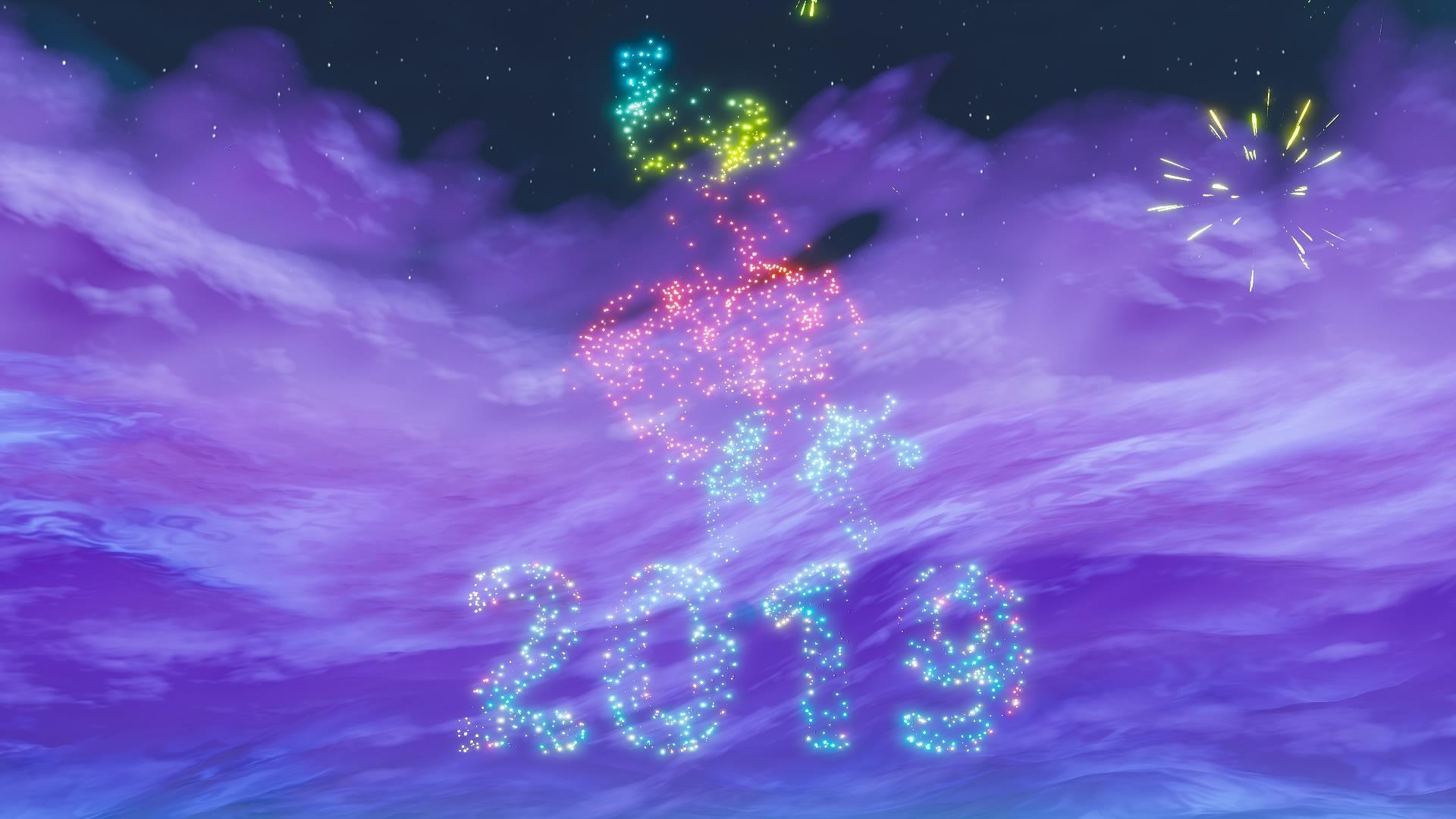 Fortnite Encendera Los Fuegos Artificiales De Ano Nuevo