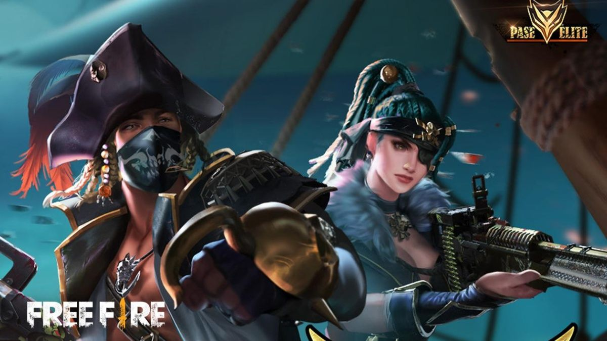 Free Fire Espectro Piratas
